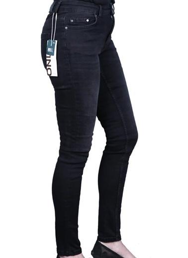 Only Only Kadın Skinny Jean Pantolon 15209666 Siyah